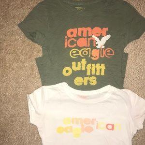 American Eagle T-shirt Bundle